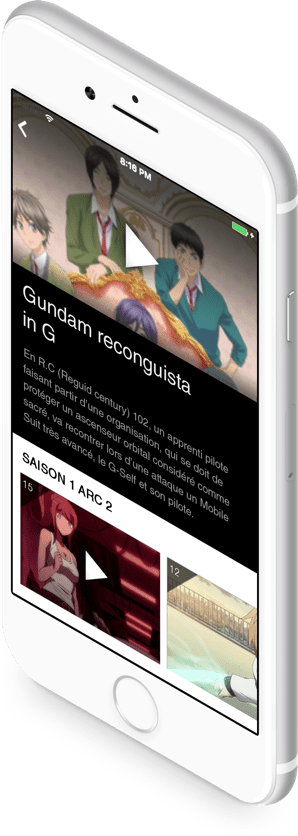 application mobile ios android vidéo
